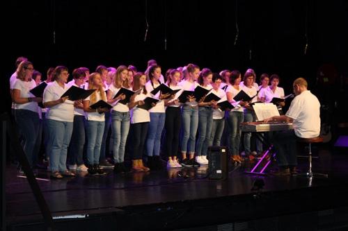 Der Clara-Fey-Chor beeindruckte in Sarzeau mit exzellenten Vorträgen.
