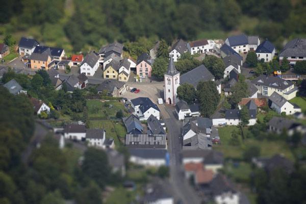 <p>Das erfolgreiche Städtebauprojekt wird im Ortskern von Dahlem schon jetzt deutlich sichtbar. © Gemeinde Dahlem </p>