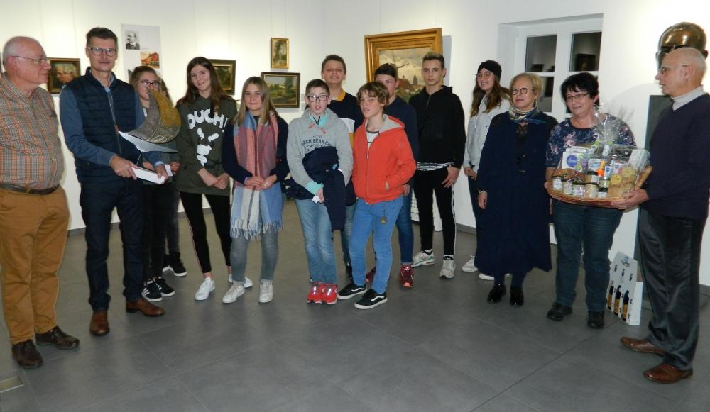 Begrüßung der Freunde aus Sarzeau in der Axe-Stiftung am 1. Dezember 2018